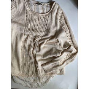 Lucky Brand :: shiny knit sweater